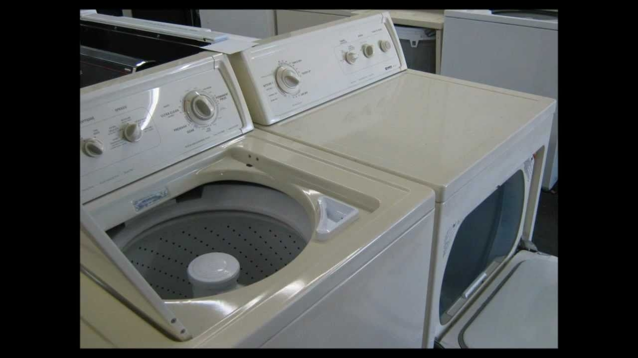 Kenmore 90 Series Washer & Dryer Special, Bisque, Like New -- $400 within Kenmore 90 Series Washer Parts Diagram