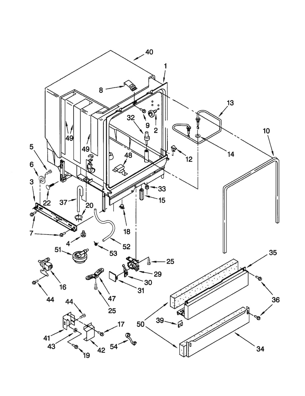 wiring diagram for kenmore dishwasher kenmore ultra wash dishwasher parts diagram | automotive ...