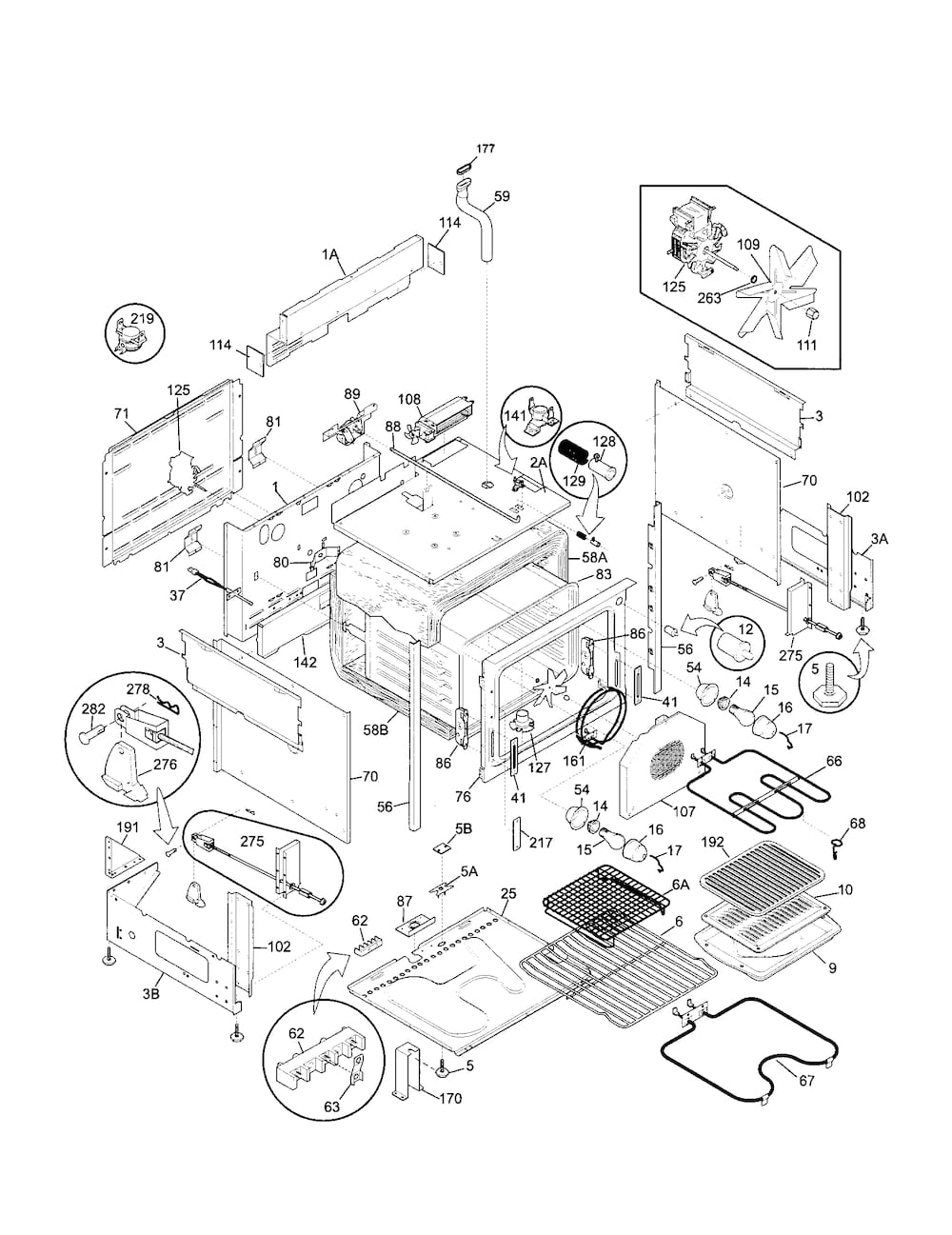 Kenmore Elite Electric Slide-In Range Parts | Model 79046803992 intended for Kenmore Elite Dishwasher 665 Parts Diagram
