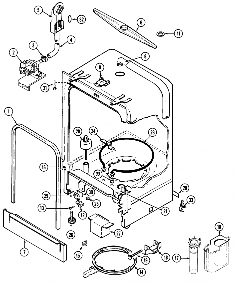 kenmore ultra wash portable dishwasher. kenmore ultra wash portable dishwasher parts image gallery \u2013 hcpr inside diagram