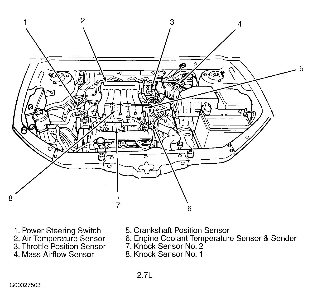 Knock Sensor Location 2001 Hyundai Santa Fe: Good Day! Hope You regarding 2002 Hyundai Santa Fe Parts Diagram