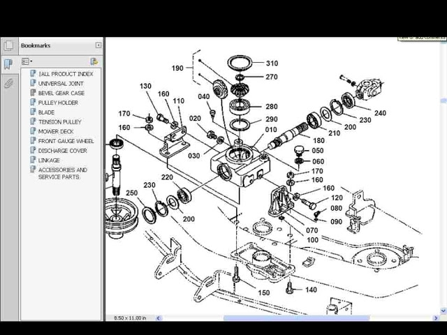 Kubota Rck Mower Parts Manuals For Rck60 24b Rck60 27b For