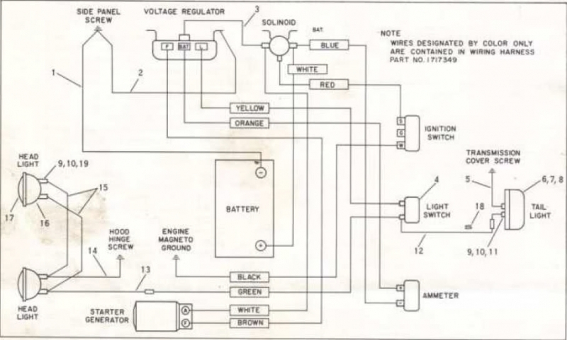 Kubota Tractor Wiring Diagram | Tractor Parts Diagram And Wiring regarding Kubota Rtv 900 Parts Diagram