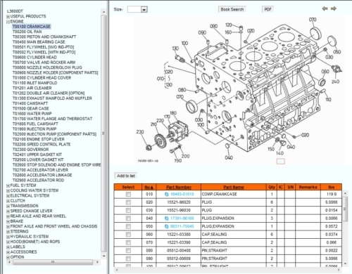 Kubota's Online Illustrated Parts Catalog | Orangetractortalks with regard to Kubota Mower Deck Parts Diagram