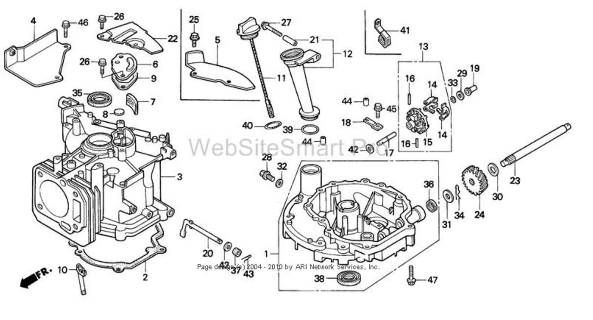 Lawn Mower Parts Diagram | Lawnmowers Snowblowers regarding Craftsman Riding Lawn Mower Parts Diagram
