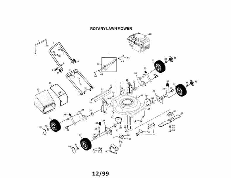 Lawn Mowers. Craftsman Lawn Mower Engine Parts Diagram: Parts in Murray Lawn Mower Parts Diagram