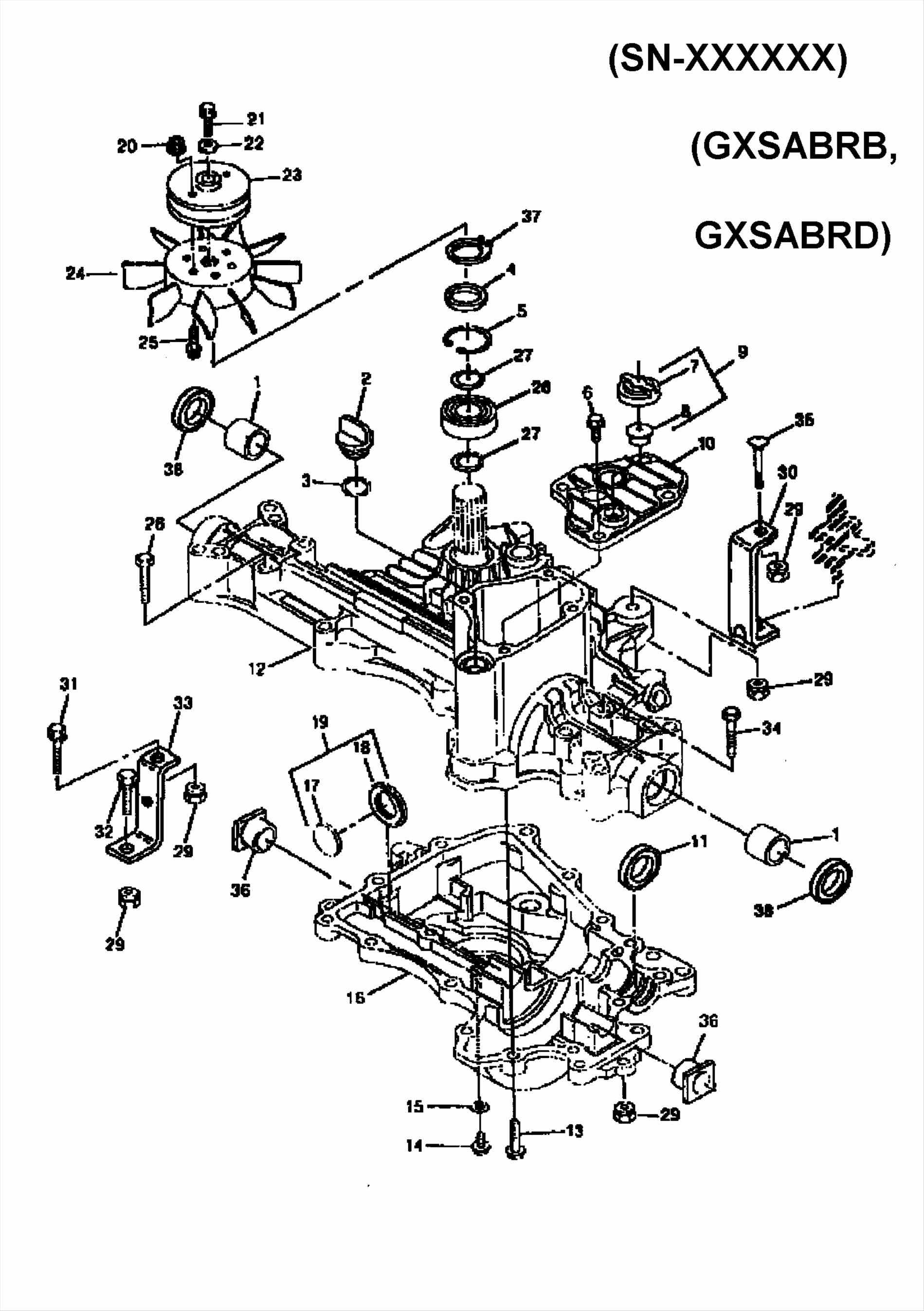 Lawn Mowers. Riding Lawn Mower Parts Diagram: Hp Rear Engine Rider with regard to Craftsman Riding Lawn Mower Parts Diagram
