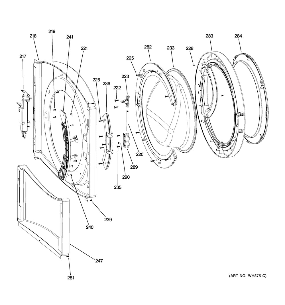 Lg Front Load Washer Parts Diagram Automotive Parts