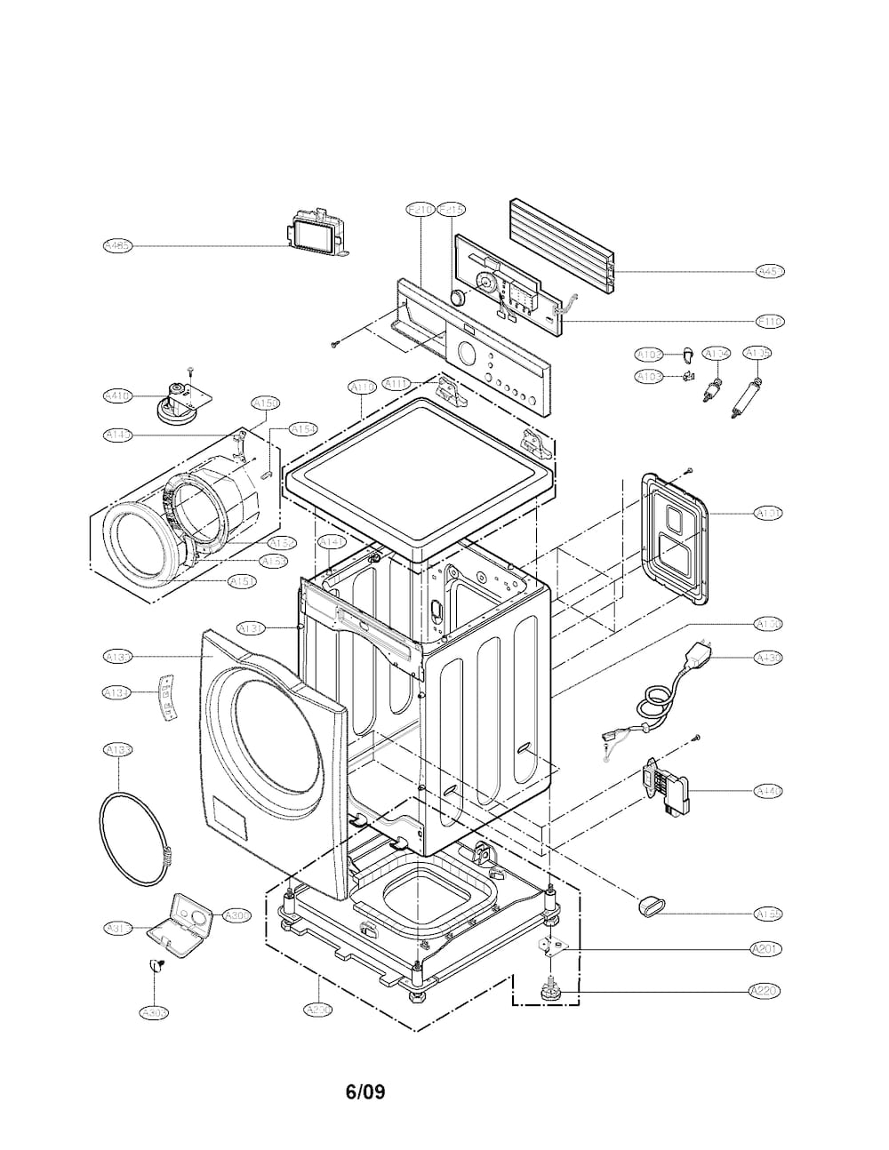 lg washer wiring diagram