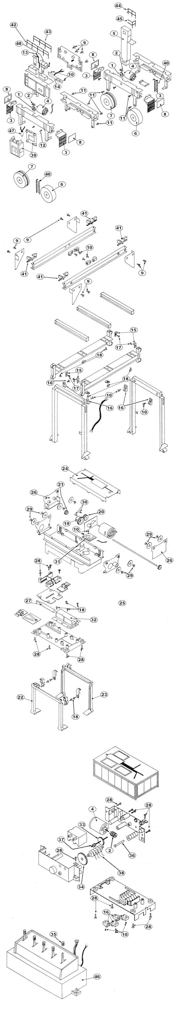 Model Train Replacement Parts : Lionel parts list and exploded diagrams automotive