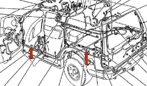 Location Of Air Suspension Parts 99 Expedition - Fixya regarding 2003 Ford Expedition Parts Diagram