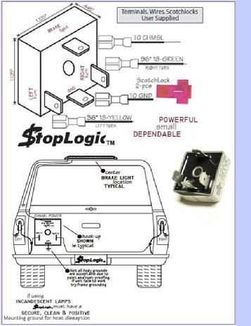 Logic Boxes For Truck Cap 3Rd Brake Light Wiring in Are Truck Cap Parts Diagram