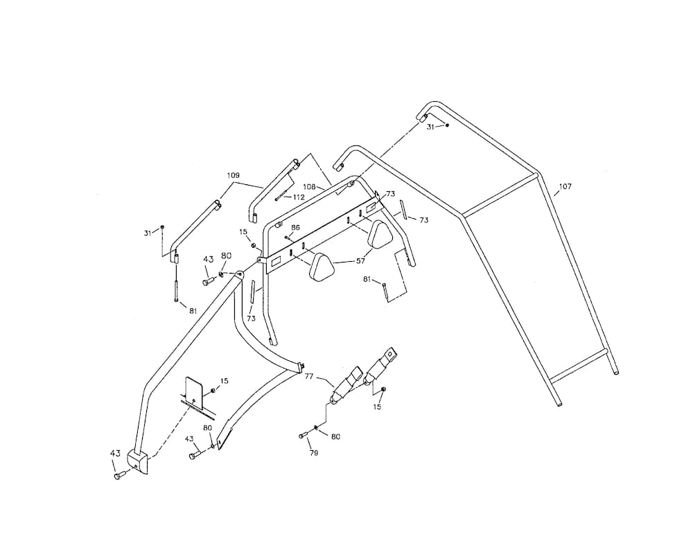 Manco Go Kart Parts | Model 496B | Sears Partsdirect regarding Manco Go Kart Parts Diagram
