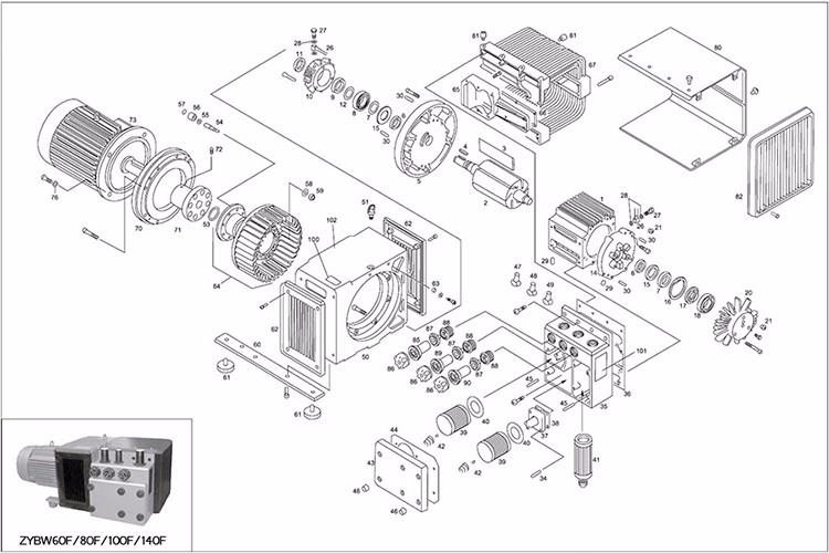 Mass Production Ryobi Weed Eater Parts Diagram Vacuum Pump - Buy in Ryobi Weed Eater Parts Diagram