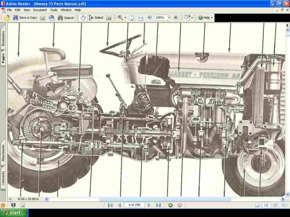 Massey Ferguson 135 Tractor Parts Diagram | Tractor Parts Diagram with 135 Massey Ferguson Parts Diagram