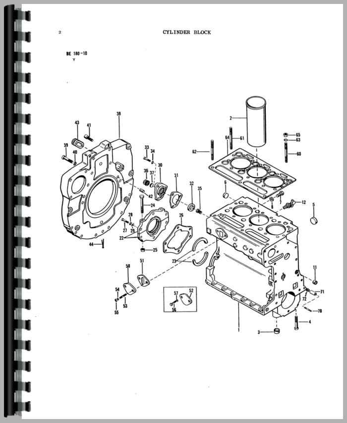 Massey Ferguson 135 Tractor Parts Manual intended for Massey Ferguson 135 Parts Diagram