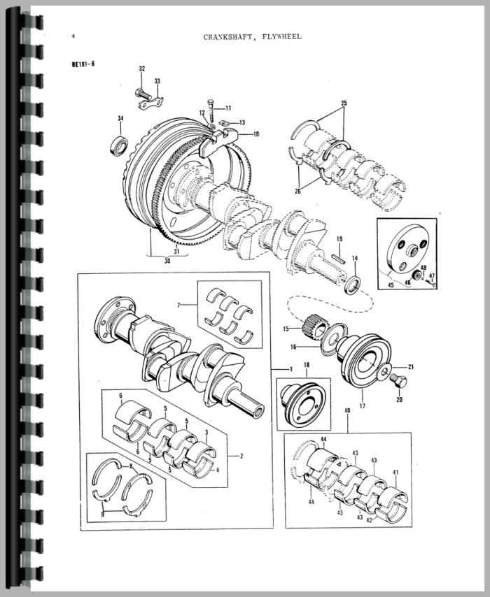 Massey Ferguson 135 Parts Diagram