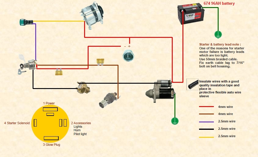 Diesel Ignition Switch Wiring Diagram from carpny.org