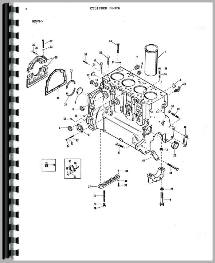 Massey Ferguson 165 Tractor Parts Manual with regard to Massey Ferguson 165 Parts Diagram