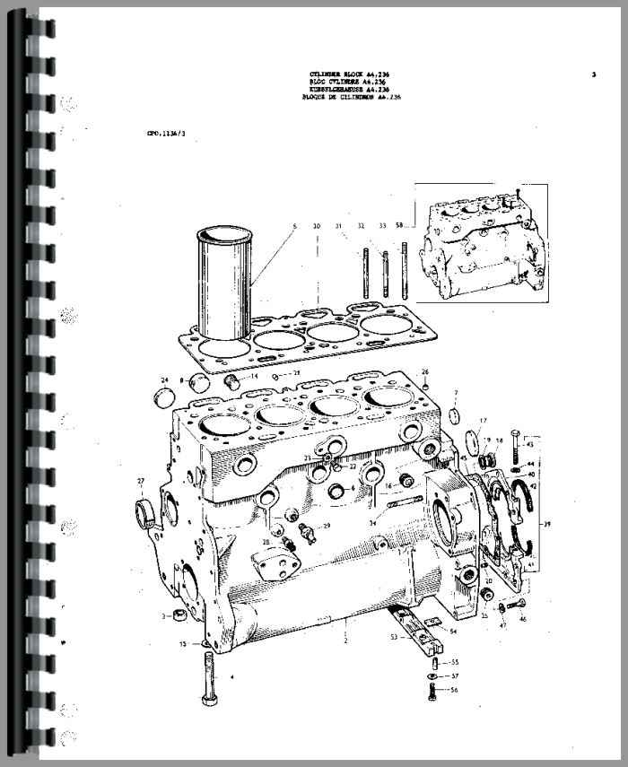 Massey Ferguson 175 Tractor Parts Manual pertaining to Massey Ferguson 175 Parts Diagram