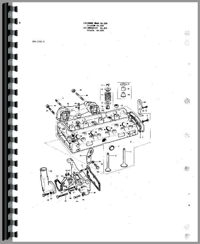 Massey Ferguson 175 Tractor Parts Manual with regard to Massey Ferguson 175 Parts Diagram