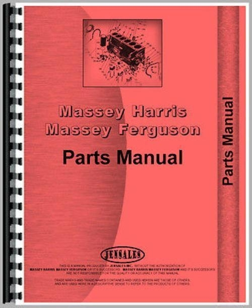 Massey Ferguson 255 Parts Manual | Ebay in Massey Ferguson 255 Parts Diagrams