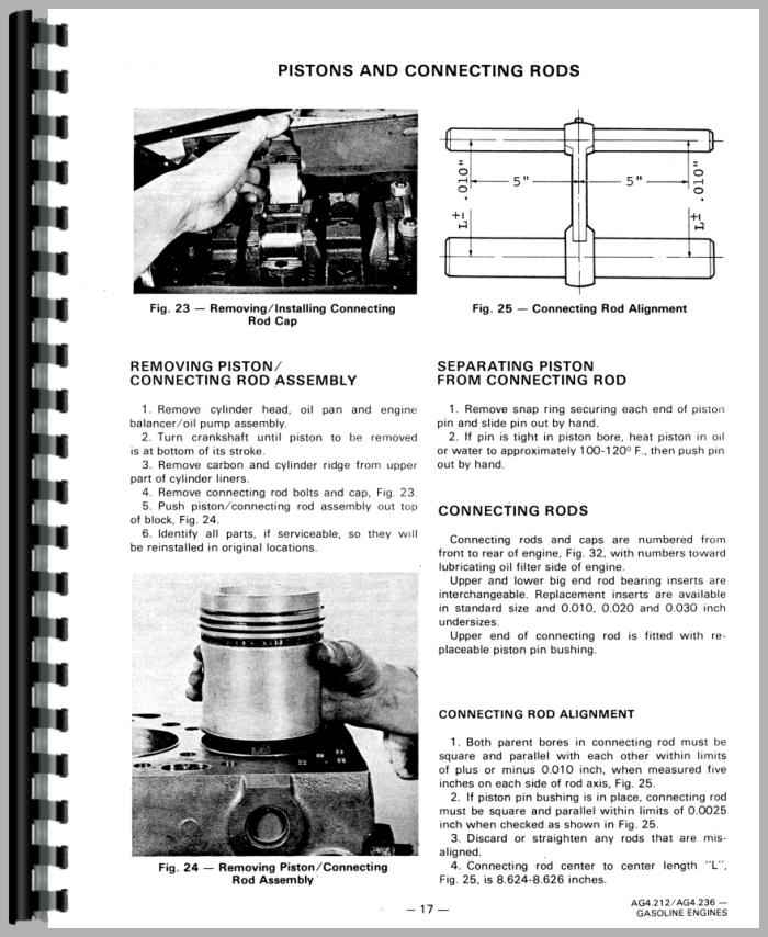 Massey Ferguson 255 Tractor Service Manual with Massey Ferguson 255 Parts Diagrams
