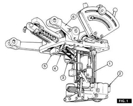 Massey Ferguson | Hydraulic Lift Repairs for 135 Massey Ferguson Parts Diagram