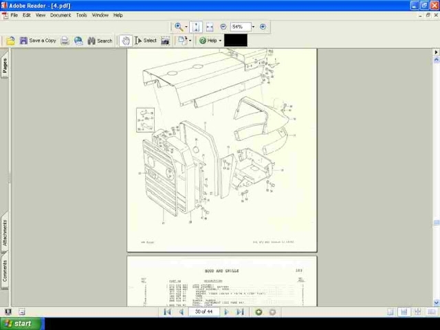 Massey Ferguson Mf 240 Tractor Parts Manual Diagrams | For Sale with regard to Massey Ferguson 240 Parts Diagram