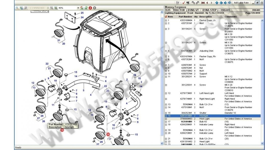 Massey Ferguson Used Tractor Parts Diagram | Tractor Parts Diagram inside Massey Ferguson 175 Parts Diagram