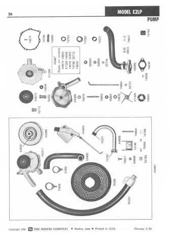 Maytag E2 Wringer Washer Parts Manual for Maytag Washing Machine Parts Diagram