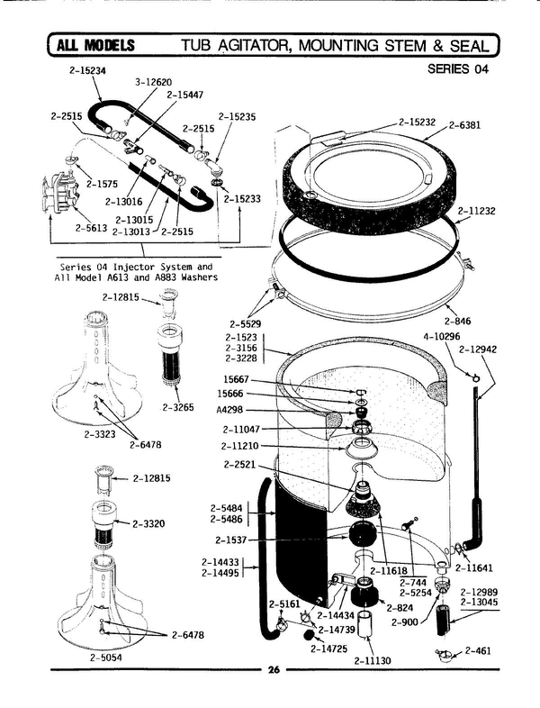 Maytag La512 Washer Parts And Accessories At Partswarehouse for Maytag Atlantis Washer Parts Diagram