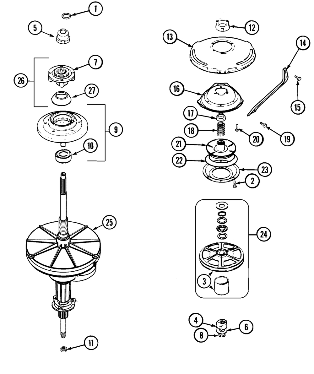 Maytag Washer Schematic Diagram - Maytag Washing Machine Repairs within Maytag Front Load Washer Parts Diagram
