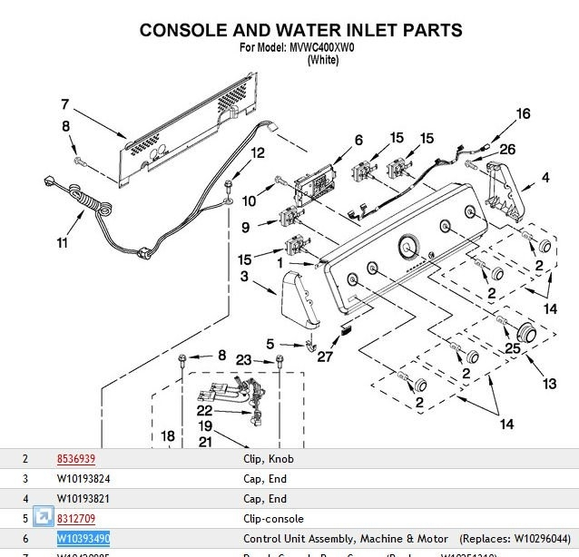 maytag centennial washer parts diagram automotive parts diagram images