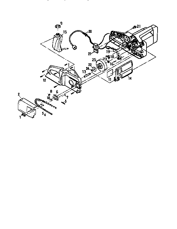 Mcculloch Chain Saw Parts | Model Eagerbeaver400S16 | Sears inside Eager Beaver Chainsaw Parts Diagram