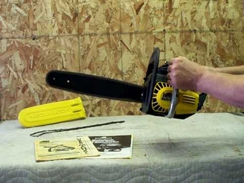 Mcculloch Eager Beaver Chain Saw - Youtube for Eager Beaver Chainsaw Parts Diagram