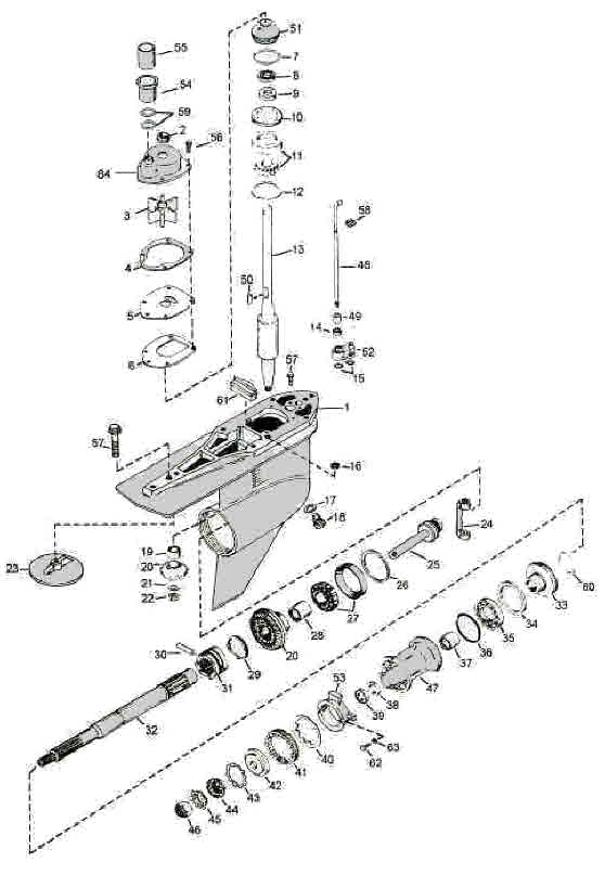 Mercruiser Alpha One Parts Diagram throughout Alpha One Mercruiser Parts Diagram
