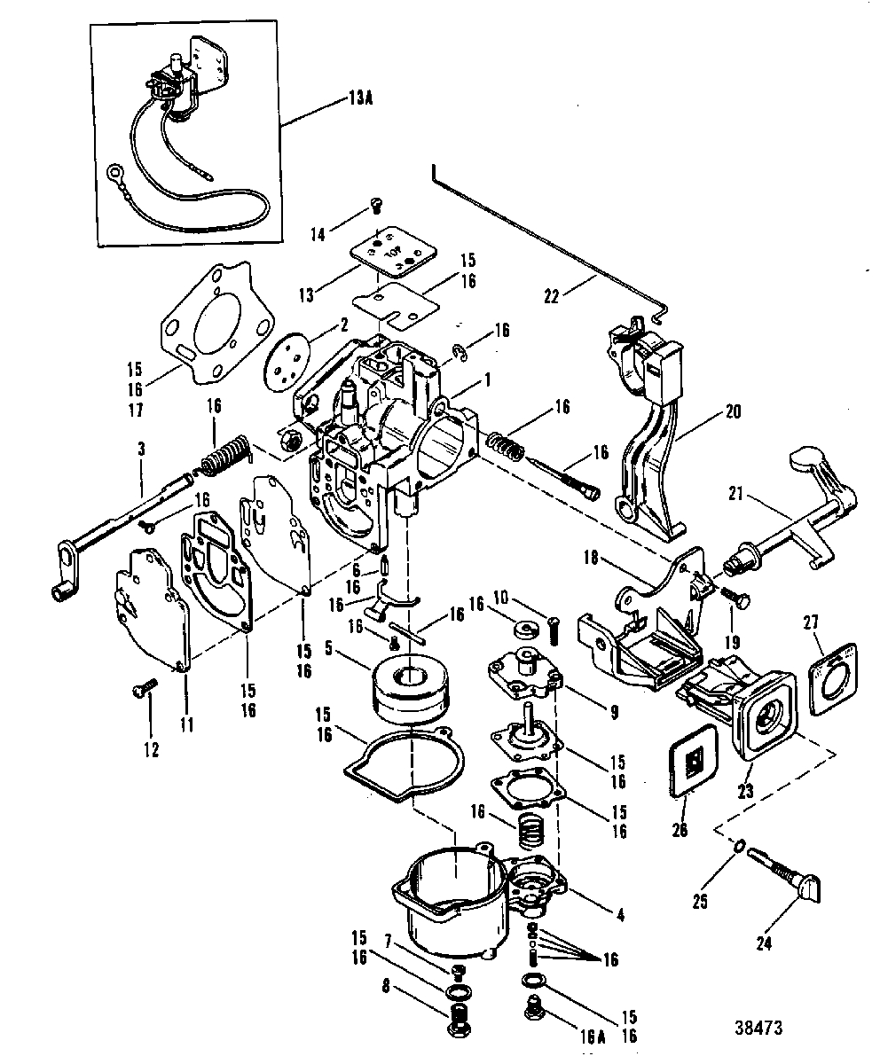 Mercury 25 Hp Outboard Parts Diagram