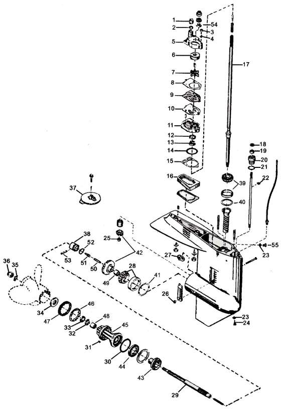 Mercury Outboard Parts Drawings * Tech Video throughout Mercury Outboard Motor Parts Diagram