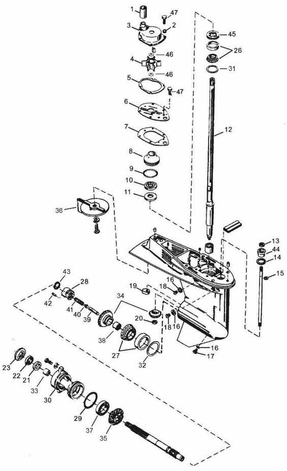 Mercury Outboard Parts Drawings & Videos with Yamaha Outboard Motor Parts Diagram