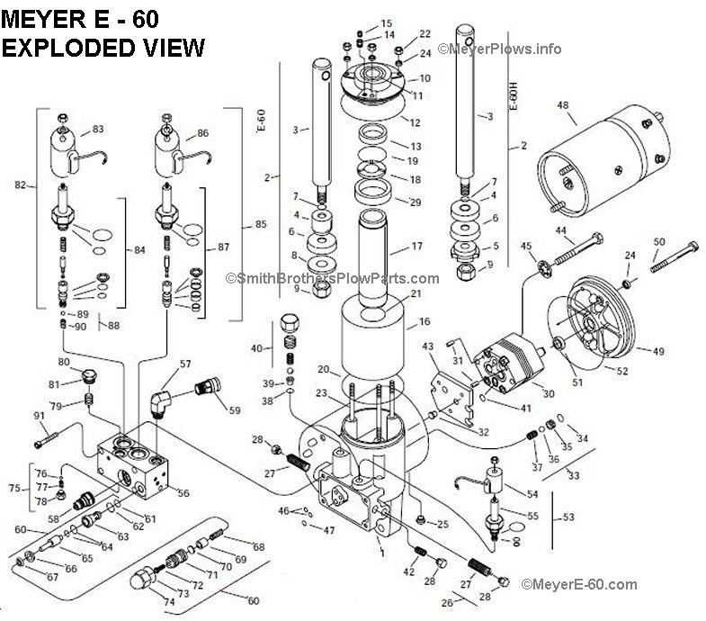 Meyer Snow Plow Parts Diagram