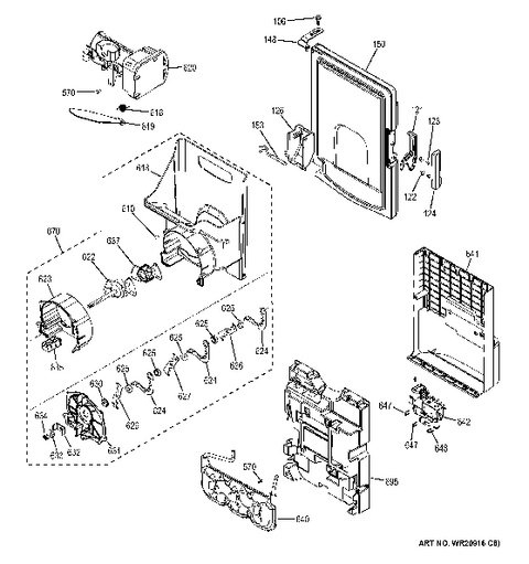 Model Search | Gfe28Hmhfes intended for Ge Ice Maker Parts Diagram