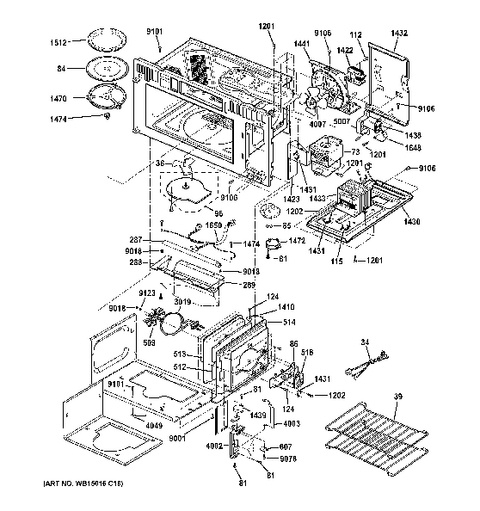 Model Search | Psa9120Sf1Ss inside Ge Advantium 120 Parts Diagram