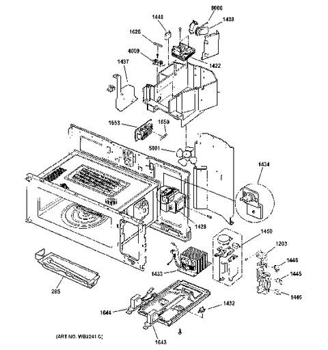Model Search | Sca1000Dbb03 inside Ge Advantium 120 Parts Diagram