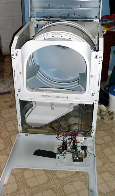 Modifying Maytag Dryer Controls pertaining to Maytag Atlantis Dryer Parts Diagram