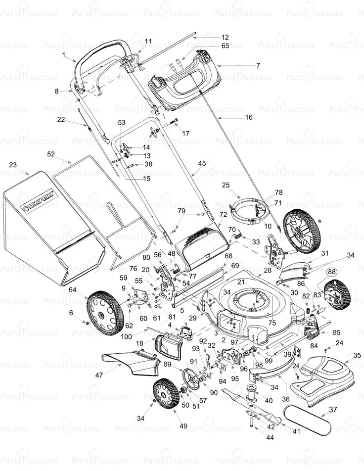Mtd Yard Machines Parts Diagram Mtd Yard Machine Parts Diagram pertaining to Yard Machine Mower Parts Diagram