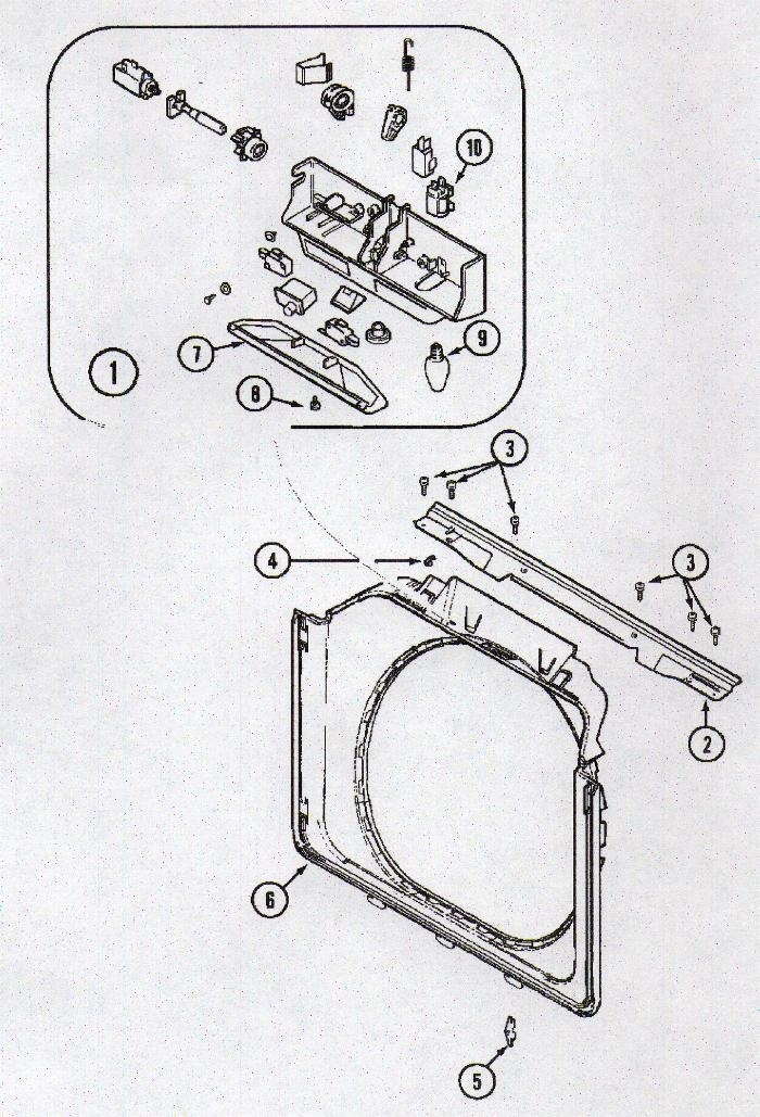Neptune Washer Parts | Appliance Aid pertaining to Maytag Neptune Washer Parts Diagram