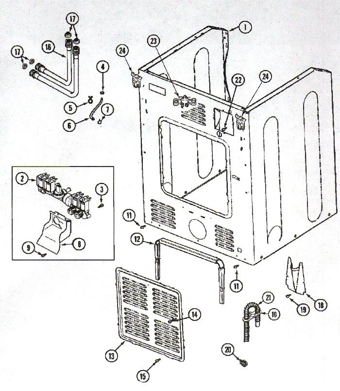 Neptune Washer Parts | Appliance Aid throughout Maytag Neptune Washer Parts Diagram