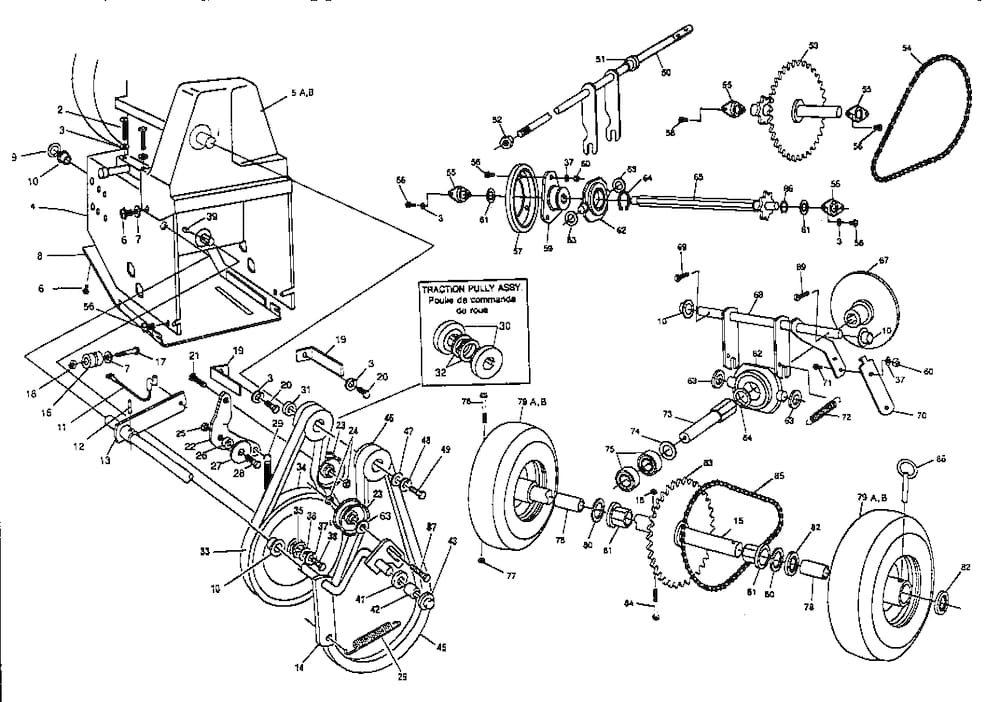 Mtd Snowblower Parts Diagram