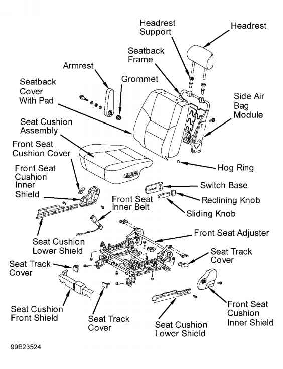 Note If Instrument Panel Or Instrument Panel Reinforcement Is with 2004 Toyota Sequoia Parts Diagram